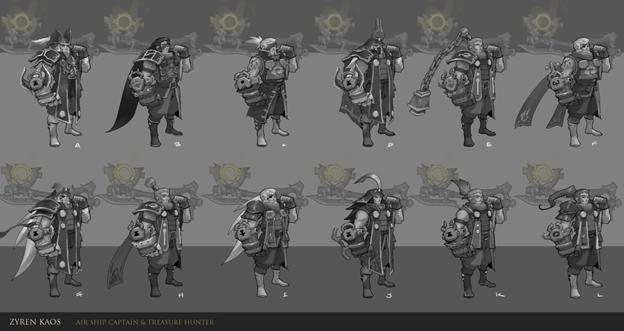 League of Legends: Fanmade New Champion Zyren Kaos - Bounty Hunter 5