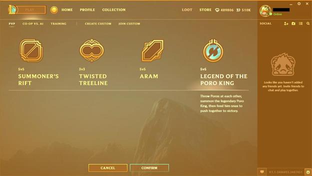 League of Legends: Game Player launches LoL Client Prestige Edition 1