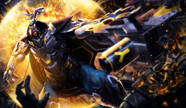 League Of Legends Project Jax Skin Are Beautifully Designed Not A Gamer