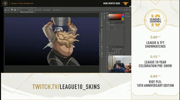 League of Legends: Riot Games designed the KDA Gragas Skin 5