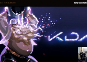 League of Legends: Riot Games designed the KDA Gragas Skin 5