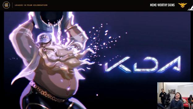League of Legends: Riot Games designed the KDA Gragas Skin 1