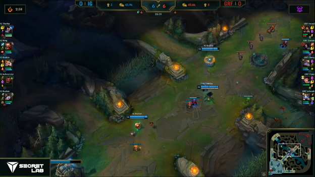 League of Legends: Invictus Gaming completely destroyed Griffin in the BO5 battle 2