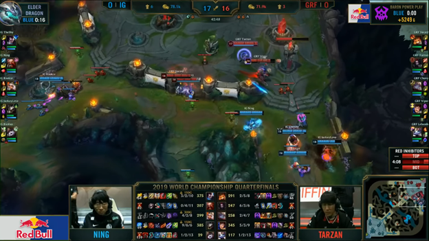 League of Legends: Invictus Gaming completely destroyed Griffin in the BO5 battle 3
