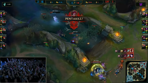 League of Legends: Invictus Gaming completely destroyed Griffin in the BO5 battle 7