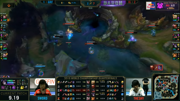 League of Legends: Invictus Gaming completely destroyed Griffin in the BO5 battle 8