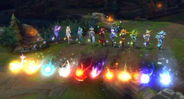 League of Legends: Will this year's Victorious Skin be Lux? 5