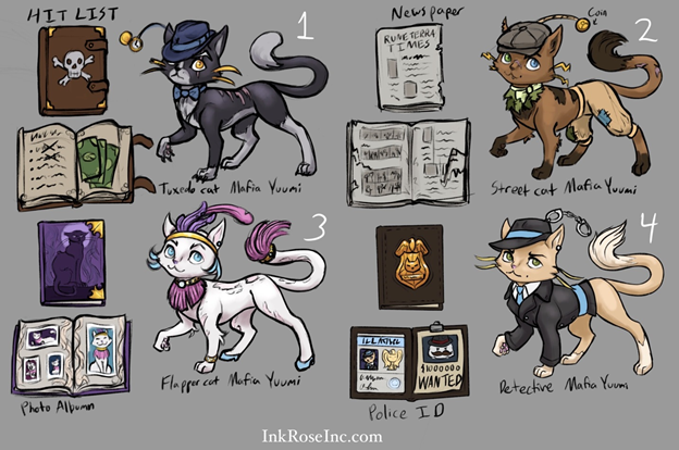 League of Legends: Yuumi's skin transforms Yuumi from Pussy Cat into a cool Detective 2