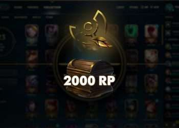 A player with Honor 0, who did nothing, but he still received 2000 RP from Riot Games 2