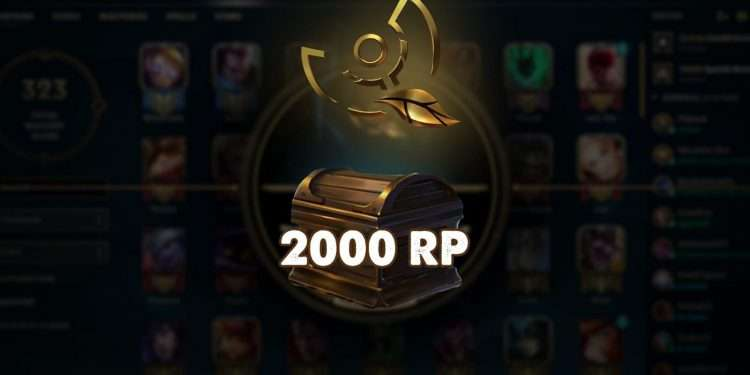 A player with Honor 0, who did nothing, but he still received 2000 RP from Riot Games 1