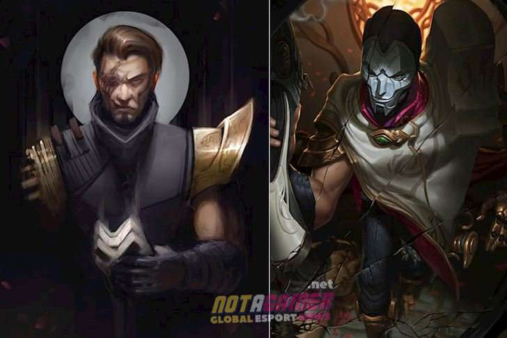 The true face behind the mask of the champions in League of Legends 3