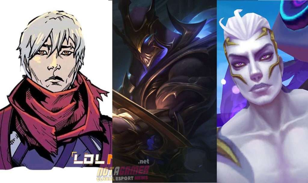 The true face behind the mask of the champions in League of Legends 2
