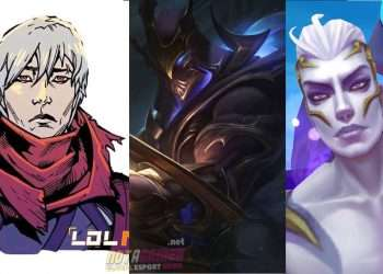 League of Legends: Shaco and Karma have Skin Dark Star and Skin Dark Cosmic for Jhin 7