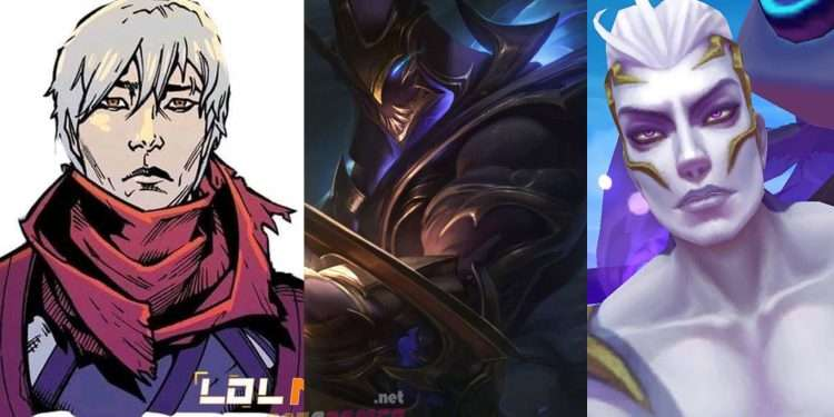 The true face behind the mask of the champions in League of Legends 1