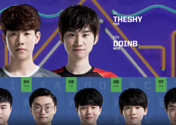 League of Legends: Doinb sexy dance on the stream calling for fans to vote for him at All-Star 6