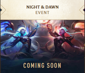 """League of Legends: Many new skins and events """"Night and Dawn"""" 2"""
