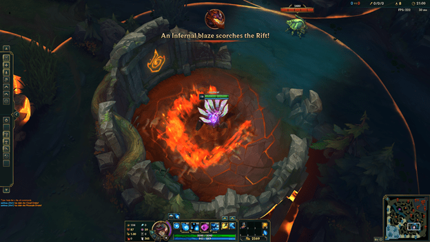 League of Legends: Having players complain too much, Riot Games decided to edit the image of the Infernal Rift 1