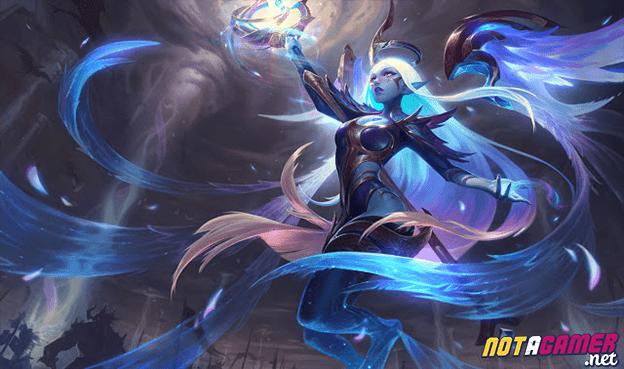 League of Legends: Dawnbringer & Nightbringer Soraka are the daughters of Nightbringer Yasuo and Dawnbringer Riven 1
