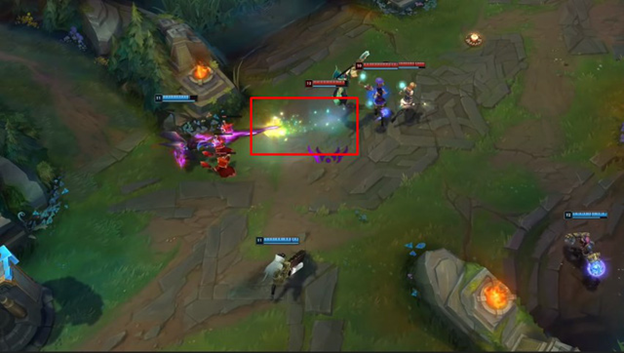 League of Legends: Lux will be editing the effects of the skill set 2