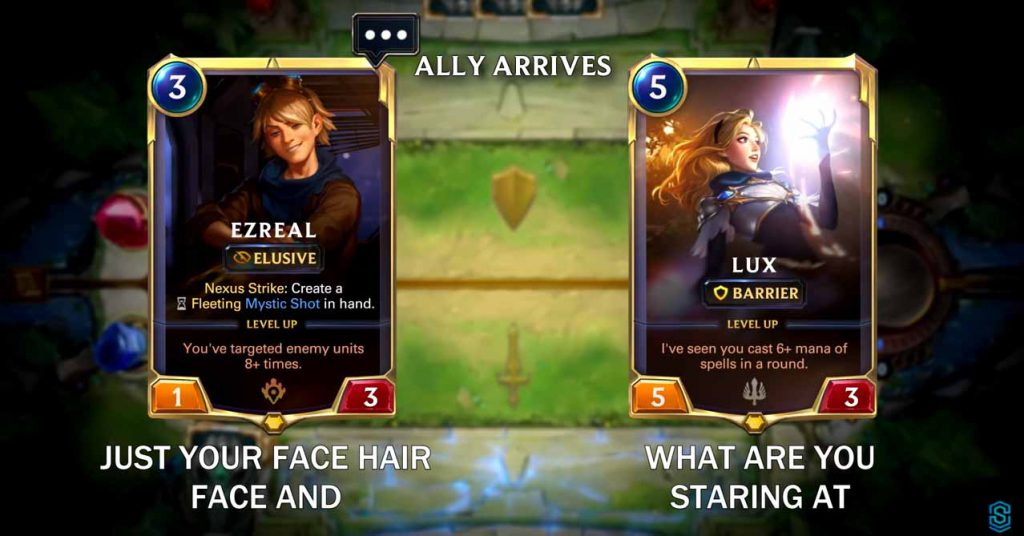 Lux and Ezreal Are Dating? 7