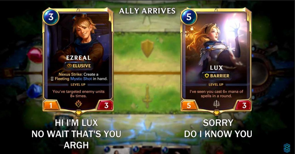 Lux and Ezreal Are Dating? 9