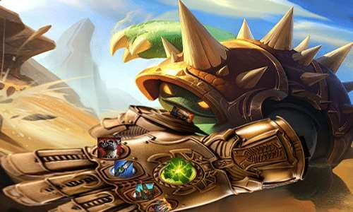 League of Legends Preseason 2020: Rammus is almost immortal with more than 4,000 armor from Mountain Drake 1