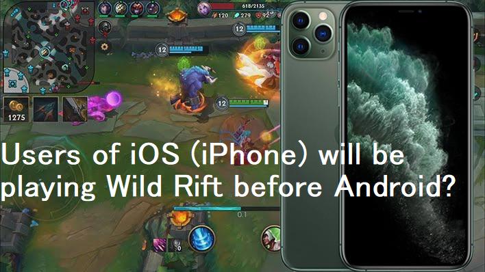 Kết quả hình ảnh cho iphone LoL mobile notagamer