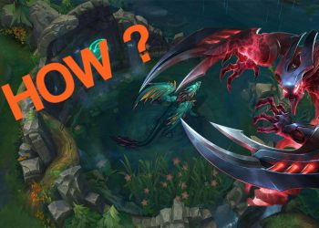 League of Legends: A tip to help your team know where Nocturne is while using R 3