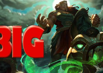 League of Legends: Illaoi accidentally reveals a secret weapon bigger than the male champions and possibly bigger than the boys. 7