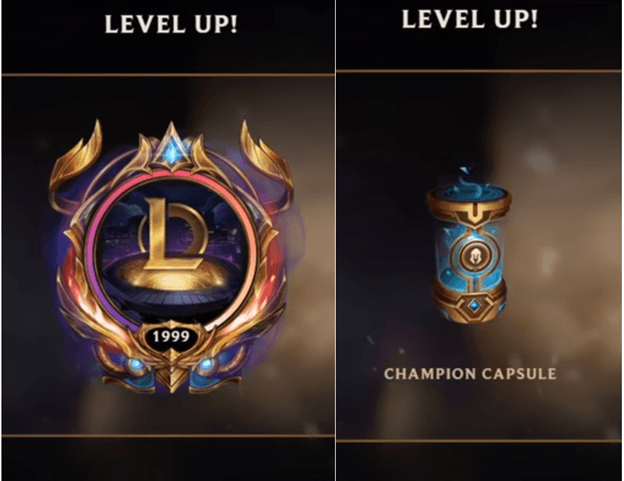 League of Legends: Level 2000, but the reward is only a champion capsule? 3