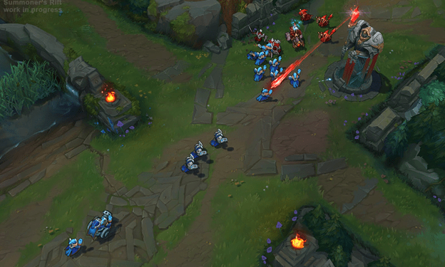 League of Legends: The new map makes minion have brain problems ? 1