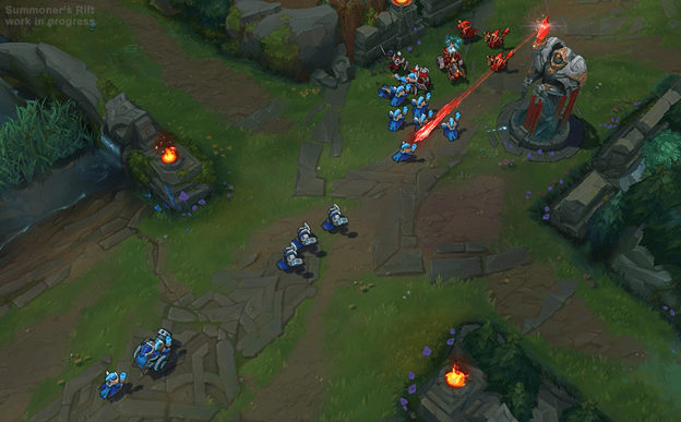 League of Legends: The new map makes minion have brain problems ? 2