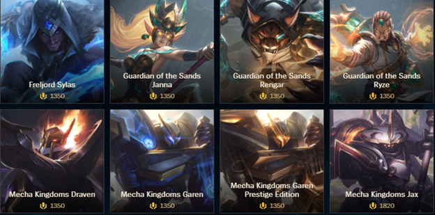 League of Legends: Riot Games needs to quickly releases features skins preview in the Client 2