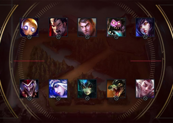 League of Legends: The members of FPX have chosen a recall effect for Skin, Doinb will choose Yasuo 5