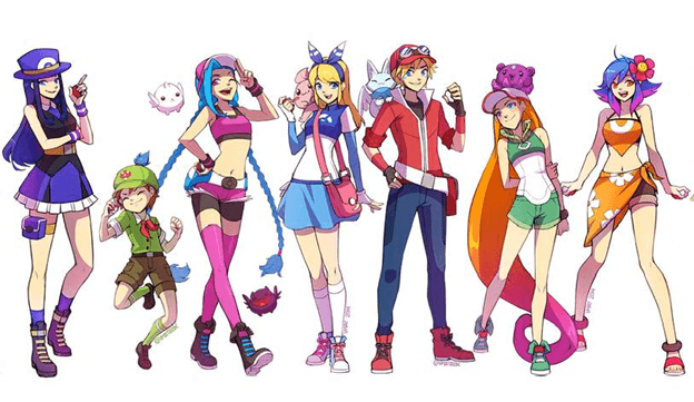 League Of Legends What Lol Champions Would Be Like If They Joined The Pokemon World Not A Gamer