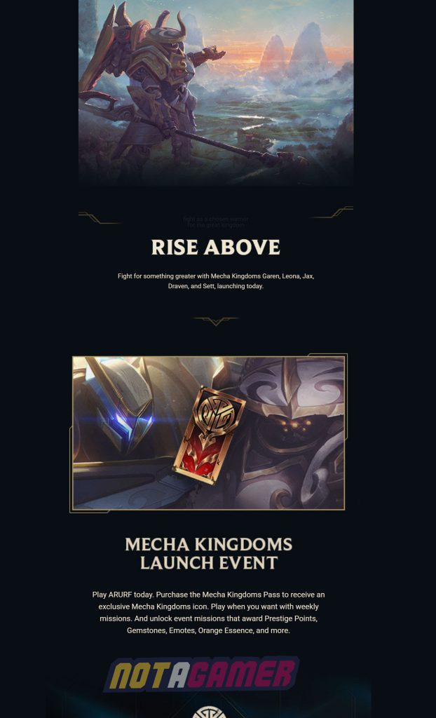 League of Legends: Mecha Kingdoms 2020 - Have You Received This Email from Riot? 2