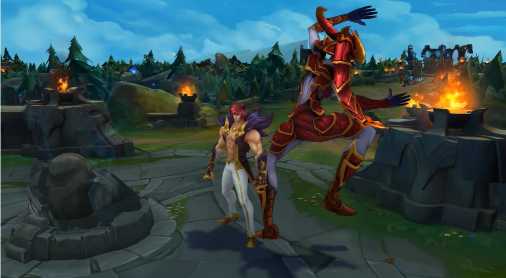 League of Legends: New Bug Makes Sett's Victim Respawns and Dies at His Base 1