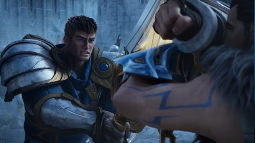 League of Legends' Warrior Cinematic is Actually just an Example of A Typical Game in Iron? (Pic by Pic Explain) 6