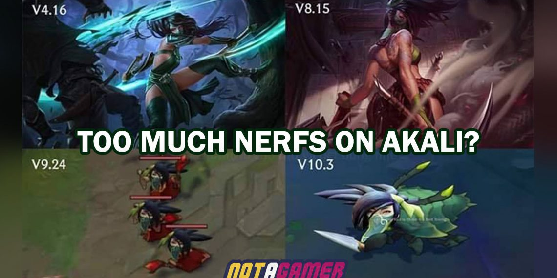 League of Legends: Too Much Nerfs on Akali? 1