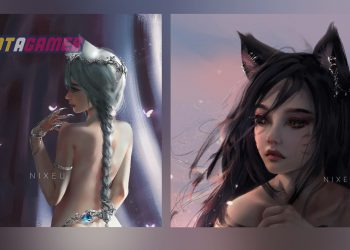 League of Legends Fan Art: Amazing Fanart of League Champions by NIXEU and WLOP 10