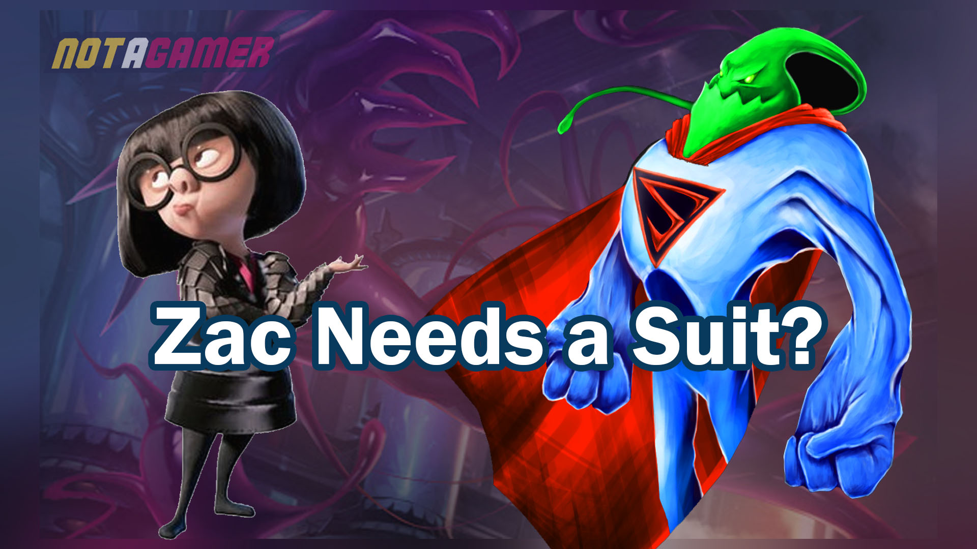 League Of Legends Edna Mode From The Incredibles Should Design