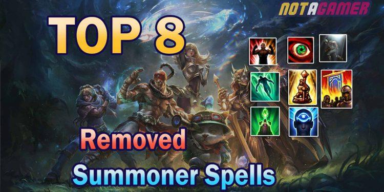 League of Legends: TOP 8 Removed Summoner Spells 1