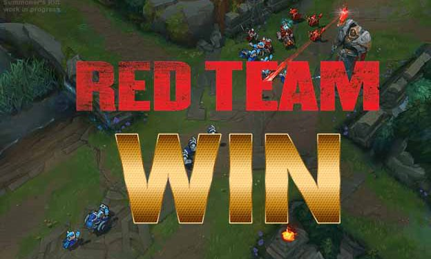 League of Legends: The pre-season changes made the red team win more than the blue team 1