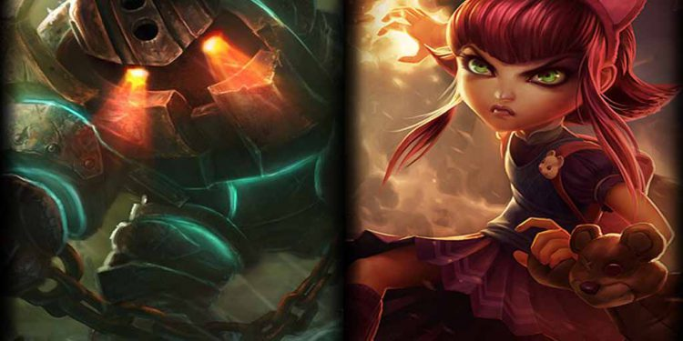 League of Legends: VFX Updates for Annie and Nautilus 1