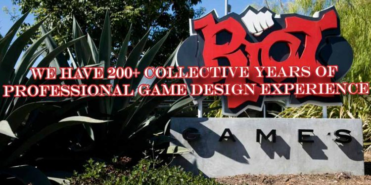 Riot Games: у нас более 200 лет коллективного опыта в профессиональном игровом дизайне 1