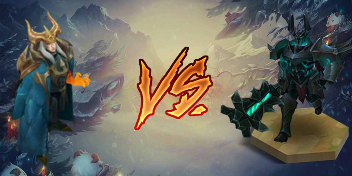 League of Legends: Destroy Bottom Lane with couple Mordekaiser and Swain 1