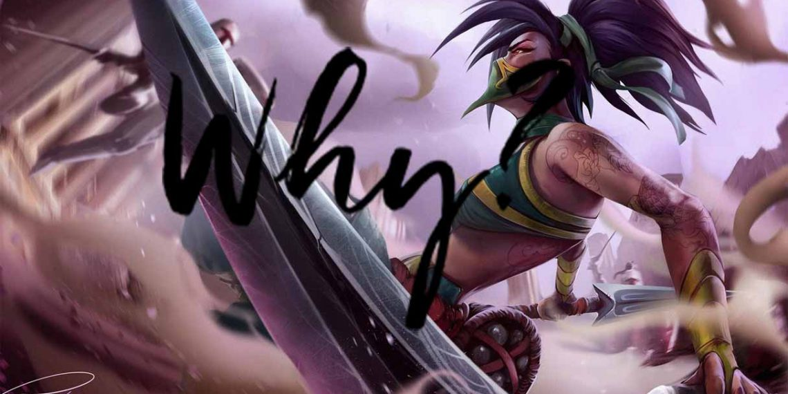 League of Legends: Why are there so many nerfs to Akali? 1