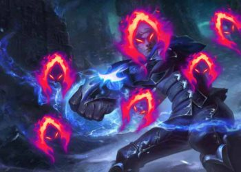 League of Legends: Ezreal can trigger Dark Harvest even when the enemy is full HP 10