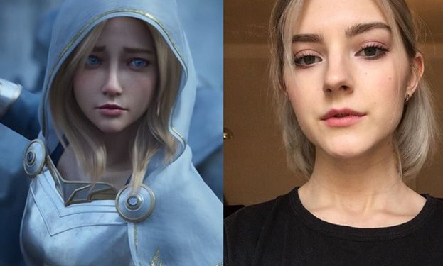 League of Legends: Lux's Real-life Version is An Adult Movie Actress 1