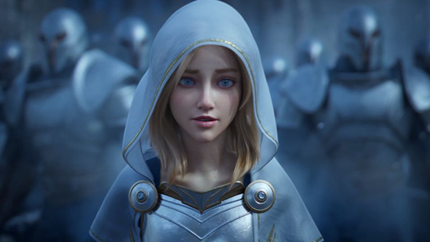 League of Legends: Lux's Real-life Version is An Adult Movie Actress 2